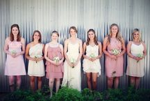 Wedding: Bridesmaids / by Dessert & Wedding Darling