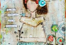 Mixed Media / Art Journal Love / by Christine Armstrong