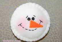 Christmas crafts / by Debbie Steinert