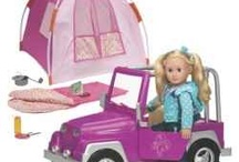 Faux American Girl Doll Accessories / by Kristen Pollock