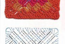 Granny crochet muestras / Patrones de cuadros / by Martha Salazar