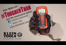 Klein's TOUGH meters / Our new tough meters feature outstanding durability and safety ratings.  / by Klein Tools Official