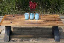 Wood furniture  / by Shannon Woodside