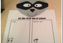 School- Beginning of Year Books / by Katie Dwyer Fugate