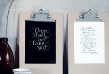 Colors ◉ Black  / Home decor with a touch of black / by Cinzia Corbetta