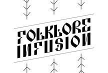 Folklore Infusion / Inspirat de cusăturile populare românești m-am decis să realizez modele de cusături și broderii românești, aplicabile pe articole vestimentare, ornamentație interioară prin serigrafie sau presare la cald. / by Digital Infusion