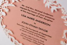 WEDDING :: invitations / by Jeanine Linder