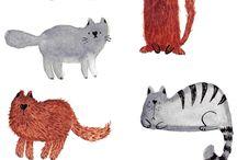 Kitties so cute / by Cheryl Strand Winbourn