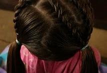 little girl hair / by Sandra Brown