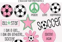 Soccer girls rock / Hit them hard / by Terri