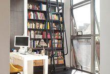 bookshelves / by Michael