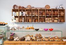 Bakeries / Cafes / by Carla Watterworth Silver