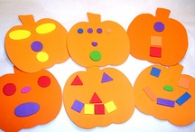 Preschool Fall Activities / Thanksgiving, Apples, Pumpkins, Halloween / by Angela Spanhak