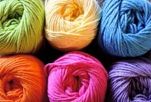 Knitting / Knitting. Yarn. Knitting....'Nuff said :P / by Mia SB