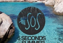 5SOS my favorite band / 5 Seconds of summer is a group of 4 talented Australians. / by Bridgette Murphy