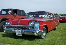 Fords and Edsels / Fords, including our 1959 Ford Custom 300. / by Carole Francis