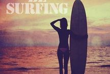 Surfing / Surfing , survive the waves , surf board and surfing quotes.  / by Marisol Rodriguez