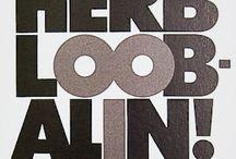 Herb Lubalin / by revrant design