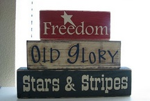 Stars & Stripes Forever! / by Luann Clauson
