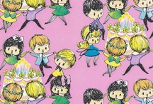 Vintage wrapping paper / by Donna Flower Vintage