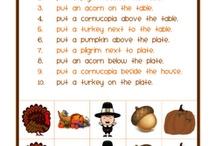SLP Thanksgiving Freebies / by Speechie Freebies