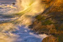 Beautiful Waters / Seascape photographs #seas #oceans, #lakes, #rivers, fantastic #waves #waterfalls / by Carolyn Sorensen