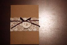 Invitations and paper products / by Jessica Safford