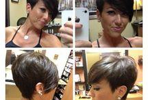 SHORT HAIR..... & SO RIGHT!!! / by Dominique Alphonse-Sainvil