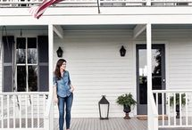 New House-Front Porch / by Trisha Philbrook
