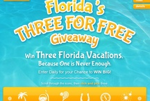 Florida's Three for Free Giveaway (Ended 6/30/12) / by VISIT FLORIDA