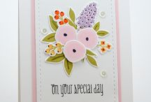Wplus9 stamps and dies / Cardmaking / by Sherry Downing