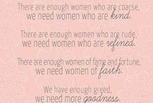 Divine Womanhood / We are daughters of our Heavenly Father, who loves us... / by Mormon Women Stand