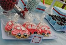 Cars birthday party! / by Sarah Elizabeth