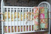 Quilts & Nursery Design Ideas / Quilts can be a great addition to a baby room. They are fun, warm and soft / by Personalized Baby Gifts, Baby Blankets & Nursery Bedding