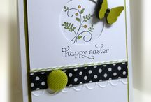 Homemade Cards Spring/Easter / by Kristin Sauvage-Leindecker