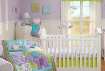 Baby girl bedding / by Liz Duffy