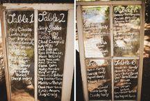 Reception Stuff! / by Taryn Johnson