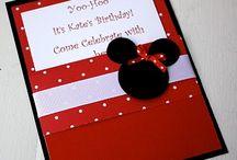 Mickey/Minnie Mouse Partie ideas / by Kerstin Alvarez