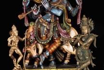 Hindu God Krishna / by Lotus Sculpture