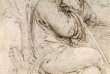 Leonardo da Vinci - рисунок / by татьяна криницына