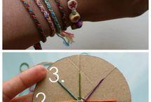 bracelets/anklets / by ina wiering