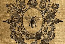 vintage Bees / by Heather Babbie