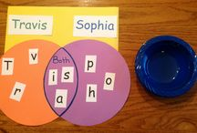 classroom - student name/interest activities / by Sonya Vittiglio