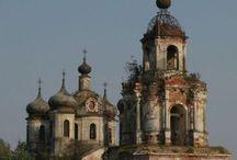 castles churches etc. / by Lisa Hewitt