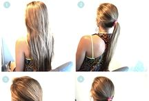 Hair how to / by Hannah Sales