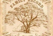 Ancestry Info, Printables & DIY's / by Mary Barnes-Ekobena