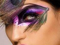 Pintura em rosto / by Jaqueline Vitto Gomes