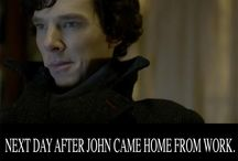 Sherlock and all it's gloriousness !! / by D eenise Dixon