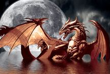 Dragons & other fantasy creatures / by Tom Shelley