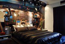 Ninja Sleep / Bedrooms. Not that ninjas need bedrooms.... NINJA'S DON'T SLEEP / by t